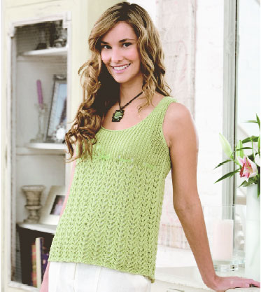 Knitting Patterns For Children s Tank Tops : Knitting Project: