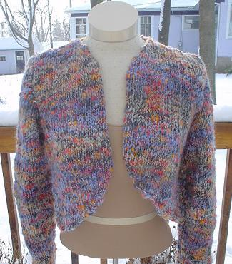 Knit a shrug, wrap or shawl :: Free knitting patterns