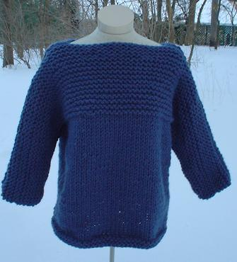 RAGLAN SLEEVE PULLOVER Vogue Knitting Winter 2003/2004 #20
