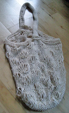 Ocean Market Bag Knitting Pattern