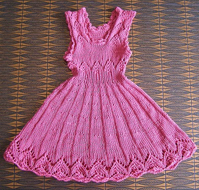 pink dream knitting pattern a toddler dress free knitting pattern